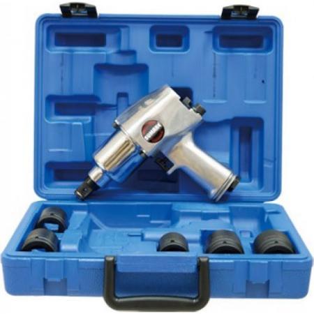 Гайковерт пневматический SUMAKE ST-5567K 3/4 1016Нмм с набором головок пневматический пистолет sumake p06 30c 8094550