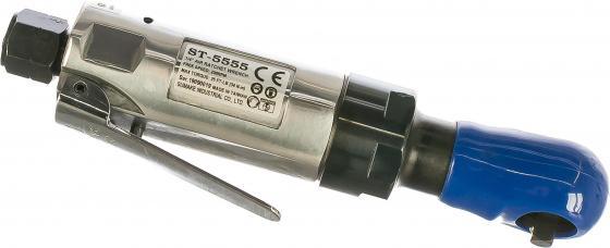 Трещотка пневматическая SUMAKE ST-5555 угловой 1/4 34Нм пневматический угловой гайковерт sumake st 5555 8094590