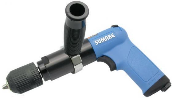 Пневмодрель SUMAKE ST-C112C  реверс. 800об/мин. патрон 13мм. 330Вт. 13мм с ручкой (Sumake) Адыгейск все инструменты купить
