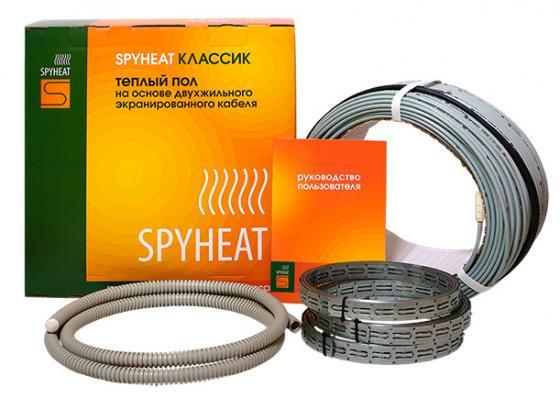 лучшая цена Теплый пол SPYHEAT SHD-20- 900 без термостата площадь укладки 5.6-7.5кв.м мощность 900Вт