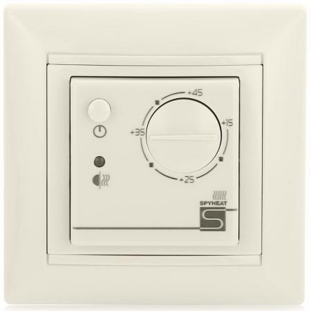 Терморегулятор SPYHEAT ETL- 308B белый +15до+45С терморегулятор программируемый spyheat nlc 527h белый