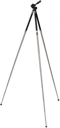 Штатив Hama Traveller Maxi 107 напольный металл черный/серебристый 00004080 штатив напольный dewal металлический тренога серебристый 948828