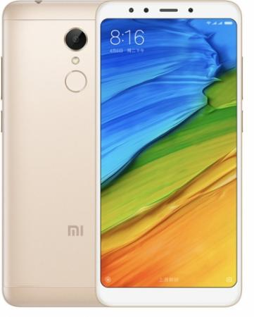 Смартфон Xiaomi Redmi 5 золотистый 5.7 16 Гб LTE Wi-Fi GPS 3G смартфон philips s327 синий 5 5 8 гб lte wi fi gps 3g 4g