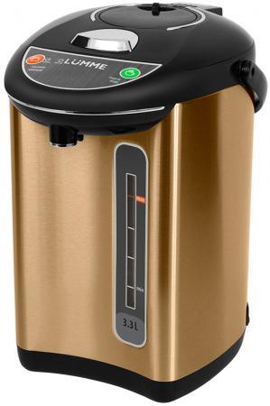 Термопот Lumme LU-299 750 Вт черное золото 3.3 л нержавеющая сталь термопот lumme lu 299 gold black
