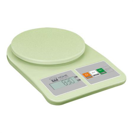 Весы кухонные HOME ELEMENT HE-SC930 зелёный диск