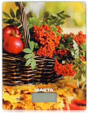 Весы кухонные Marta MT-1634 рисунок мультиварка marta mt 4314 темный агат