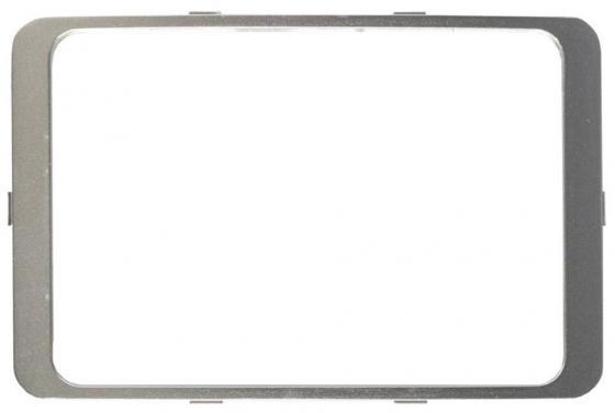 цена на Рамка СВЕТОЗАР SV-54176-SM гамма декоративная светло-серый металлик двойная