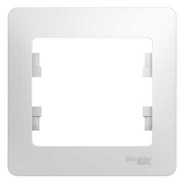 Рамка SCHNEIDER ELECTRIC GSL000101 Glossa 1-м бел.