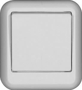 Выключатель Wessen Прима 6 A белый A16-051-BI