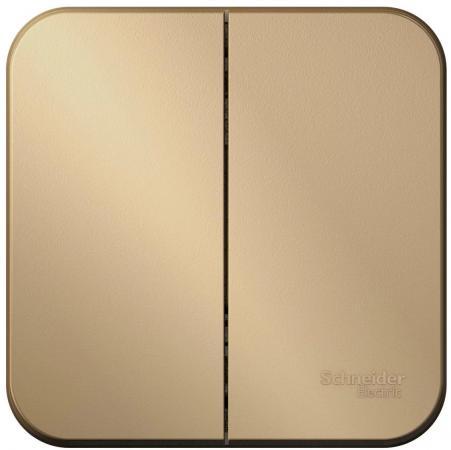 Выключатель SCHNEIDER ELECTRIC BLNVA105004 Blanca 2-кл. оп сх.5 10А 250В титан