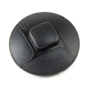 Выключатель напольный LUX SF-07 черный круглый, 250В 2А для светильников