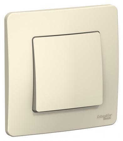 Переключатель SCHNEIDER ELECTRIC BLNVS010602 Blanca 1-кл. сп сх.6 10А 250В молоч.