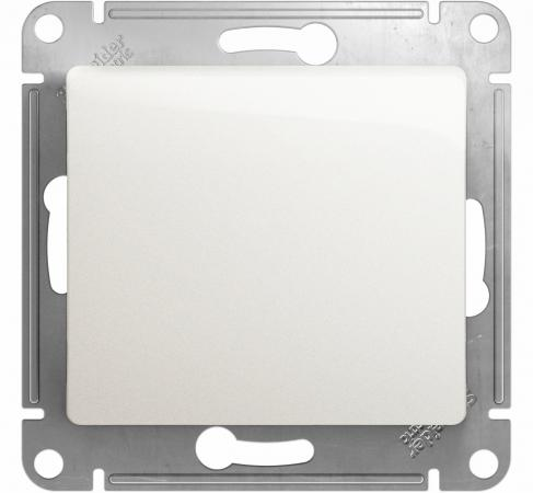 Механизм выключателя SCHNEIDER ELECTRIC GSL000113 Glossa 1-кл. с подсвет. бел.