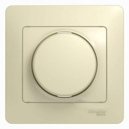 Механизм светорегулятора SCHNEIDER ELECTRIC 275197 Glossa светорегулятор сп 600Вт/ва универс. беж. светорегулятор tdm таймыр белый rl 600вт sq1814 0024