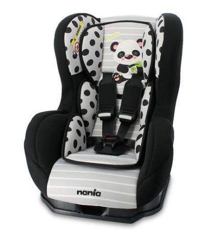 Автокресло Nania Cosmo SP (panda grey) автокресло nania driver fst skyline black