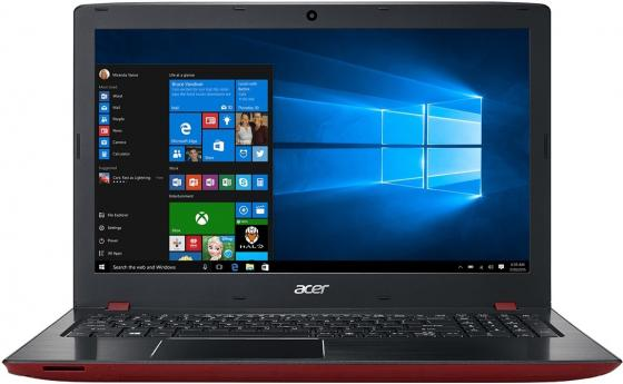 Ноутбук Acer Aspire E5-576G-37T4 15.6 1920x1080 Intel Core i3-6006U 500 Gb 6Gb nVidia GeForce GT 940MX 2048 Мб красный Windows 10 Home NX.GTZER.026 ноутбук lenovo ideapad 320 17ikb 17 3 1600x900 intel core i3 7100u 500 gb 8gb nvidia geforce gt 920mx 2048 мб серебристый windows 10 home