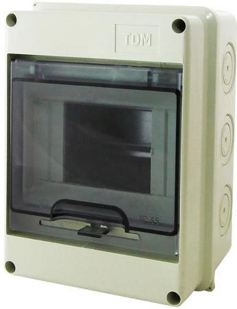 Бокс TDM SQ0908-0001 ЩРН-П-5 модулей навесной пластик IP65