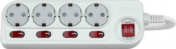 все цены на Сетевой фильтр DAESUNG ACM2043 3м 16а 3.2кВт 3х1.5мм2 4 розетки с заземлением(20) онлайн