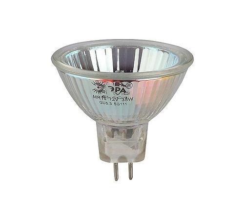 Лампа галогенная ЭРА GU5.3-JCDR (MR16) -50W-230V-Cl (10/200/6000) цена
