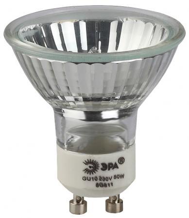 купить Лампа галогенная ЭРА GU10-JCDR (MR16) -50W-230V (10/200/4800) по цене 60 рублей