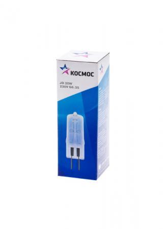 Лампа галогенная капсульная КОСМОС JD 220В/35Вт G6.35 цена и фото