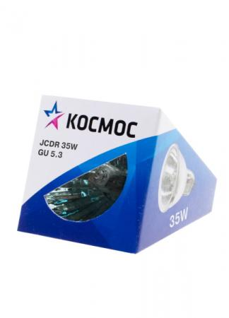 Купить Лампа галогенная с отражателем КОСМОС JCDR 220В/35Вт GU5.3
