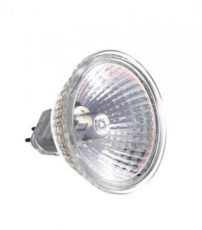 Лампа галогенная АКЦЕНТ MR16 12В 35W 36° GU5.3 с отражателем и защитным стеклом лампа галогенная акцент mr16 12в 20w 36° gu5 3 с отражателем и защитным стеклом