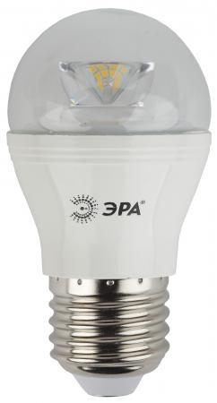 Лампа светодиодная ЭРА P45-7w-827-E27-Clear 7Вт Е27 600лм цена и фото