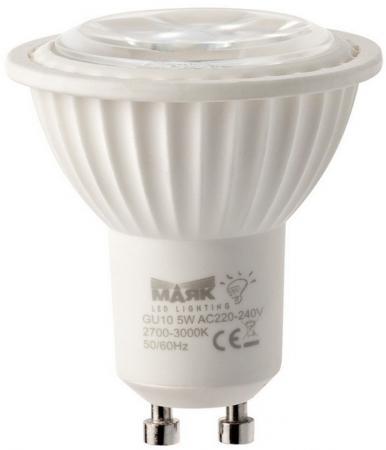 Лампа светодиодная рефлекторная Маяк GU-006 GU10 5W 3000K goodeck лампа светодиодная goodeck рефлекторная матовая gu10 5 5w 4100k gl1007024206