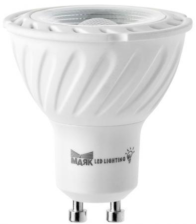 Лампа светодиодная МАЯК GU10/8W/3000K рефлекторная прозрачная GU10 АС:175-250V 8W goodeck лампа светодиодная goodeck рефлекторная матовая gu10 5 5w 4100k gl1007024206