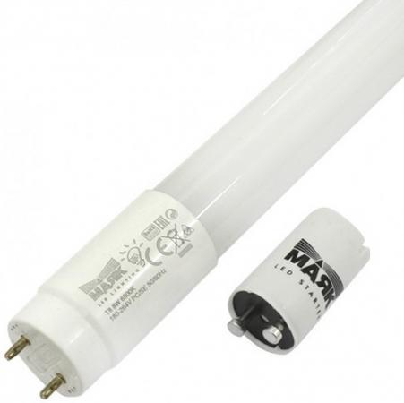 Лампа светодиодная МАЯК LB-T8PRO-06/8W/6500-001 220B G13 трубка 600мм мат. пластик АC:180-264