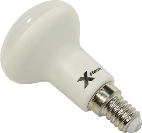 Лампа светодиодная рефлекторная X-Flash XF-E14-R50-6W-3000K-230V E14 6W 3000K цена