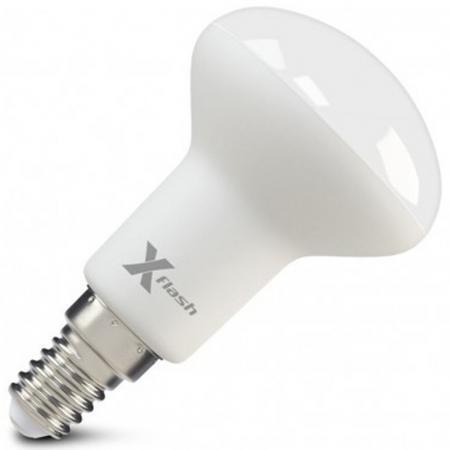 Светодиодная лампа X-FLASH XF-E14-R50-6W-4000K-230V 6W 4000K 230V E14 светодиодная лампа x flash xf spl gu 5 3 6w 3k 12v артикул 43477