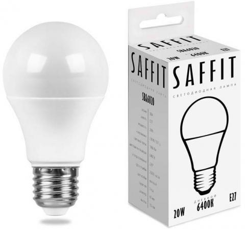 цена на Лампа светодиодная груша Saffit 55015 E27 20W 6400K