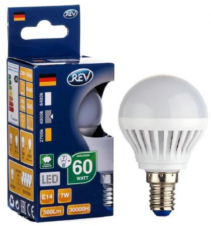 Лампа светодиодная REV RITTER 32341 9 7Вт E14 600лм 4000К холодный свет таймер rev ritter 05161 9