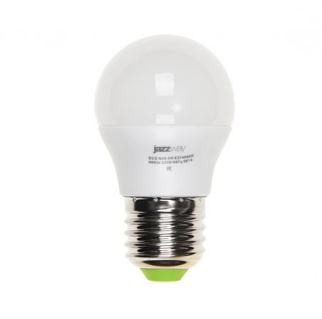 Лампа светодиодная JAZZWAY PLED-ECO-G45 5Вт e27 3000k 400лм