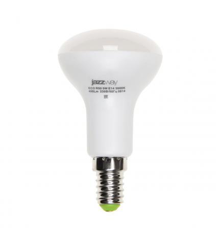Лампа светодиодная JAZZWAY PLED-ECO-R50 5Вт e14 3000k 400лм лампа светодиодная эра r50 eco