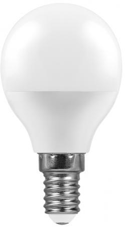 Лампа светодиодная шар FERON LB-95 E14 7W 2700K цена в Москве и Питере