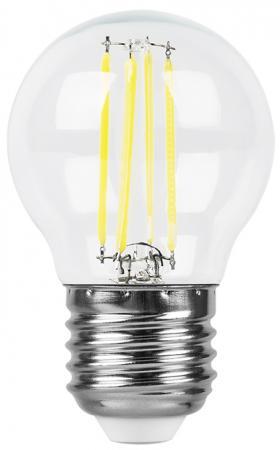 Лампа светодиодная FERON 25582 (5W) 230V E27 4000K, LB-61 лампа светодиодная капсульная feron lb 432 g9 5w 4000k