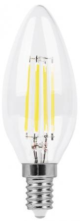 Лампа светодиодная FERON 25572 (5W) 230V E14 2700K, LB-58 лампа светодиодная lb 58 e14 5вт 230в 2700 k 25572