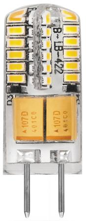 Лампа светодиодная FERON 25531 (3W) 12V G4 2700K, LB-422 g4 3w 280lm 6500k ac 12v led cob car bulb cabinet dome light pure white