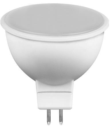 Лампа светодиодная FERON 25237 80LED (7W) 230V G5.3 6400K, LB-26
