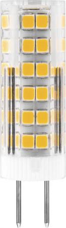 Лампа светодиодная FERON 25864 (7W) 230V G4 4000K, LB-433 feron настольная лампа на прищепке feron al7020 28818