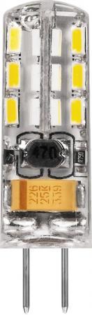 Лампа светодиодная капсульная FERON 25859 G4 2W 6400K лампа feron green de1708
