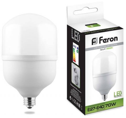 Купить Лампа светодиодная FERON 25822 (70W) 230V E40 4000K, LB-65