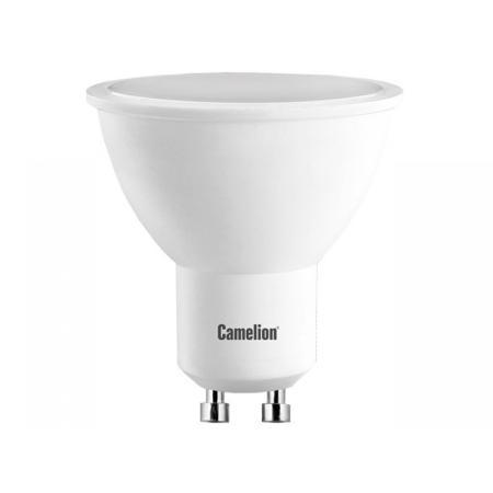 Лампа светодиодная CAMELION LED7-GU10/830/GU10 7Вт 220В GU10 лампа светодиодная camelion led5 gu10 830 gu10 5вт 220в