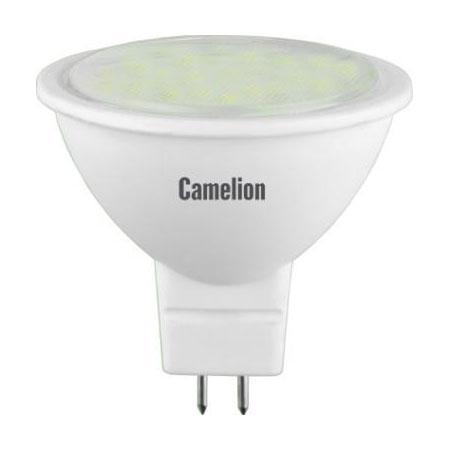 Лампа светодиодная CAMELION LED3-JCDR/845/GU5.3 3Вт 220В GU5.3 фонарь camelion w 101 лампа переноска