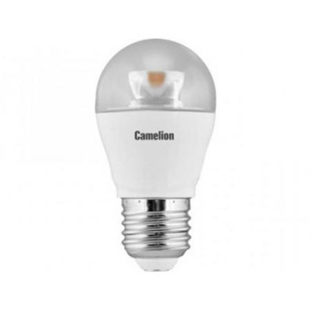 Лампа светодиодная шар Camelion LED6.5-G45-CL/845/E27 E27 6.5W 4500K 332977 лампочка camelion led5 5 g45 845 e27