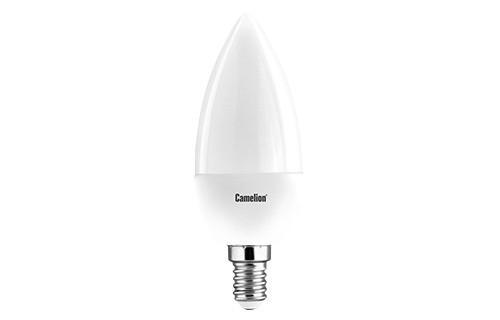 Лампа светодиодная CAMELION LED7-C35/865/E14 Эл.лампа светодиодная 7Вт 220В диммируемая светодиодная лампа 7вт 220в camelion led7 jcdr d 830 gu5 3 11789