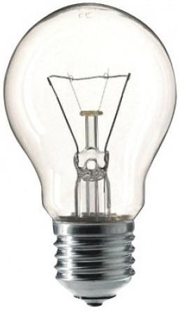 Лампа накаливания КОСМОС  А55 95Вт E27 прозрачная  LKsmSt55CL95E27v2